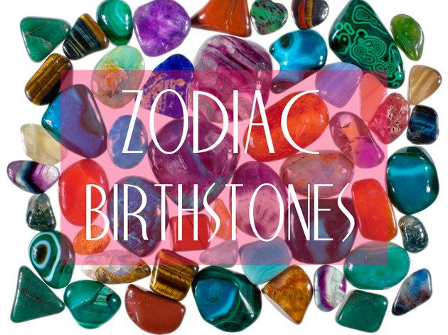 Gem Stones of the Zodiac